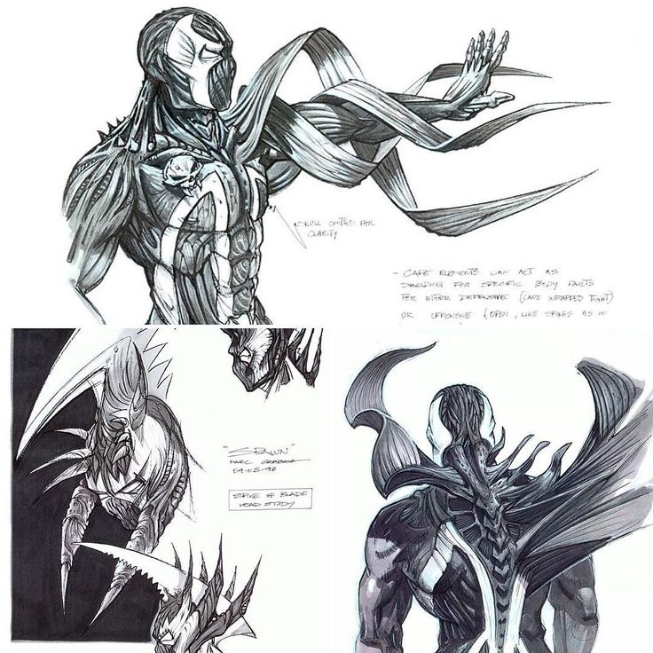 Here's some concept art for the 1997 Spawn movie by Marc Gabbana. By the looks of it Spawn could've been more badass. Even though the movie was one big preschool-level cgi fest we enjoyed it. We have high hopes for the R-rated reboot.  #spawn #spawncomics #spawnthemovie #spawnreboot #toddmcfarlane #marcgabbana #conceptart #movie #concept