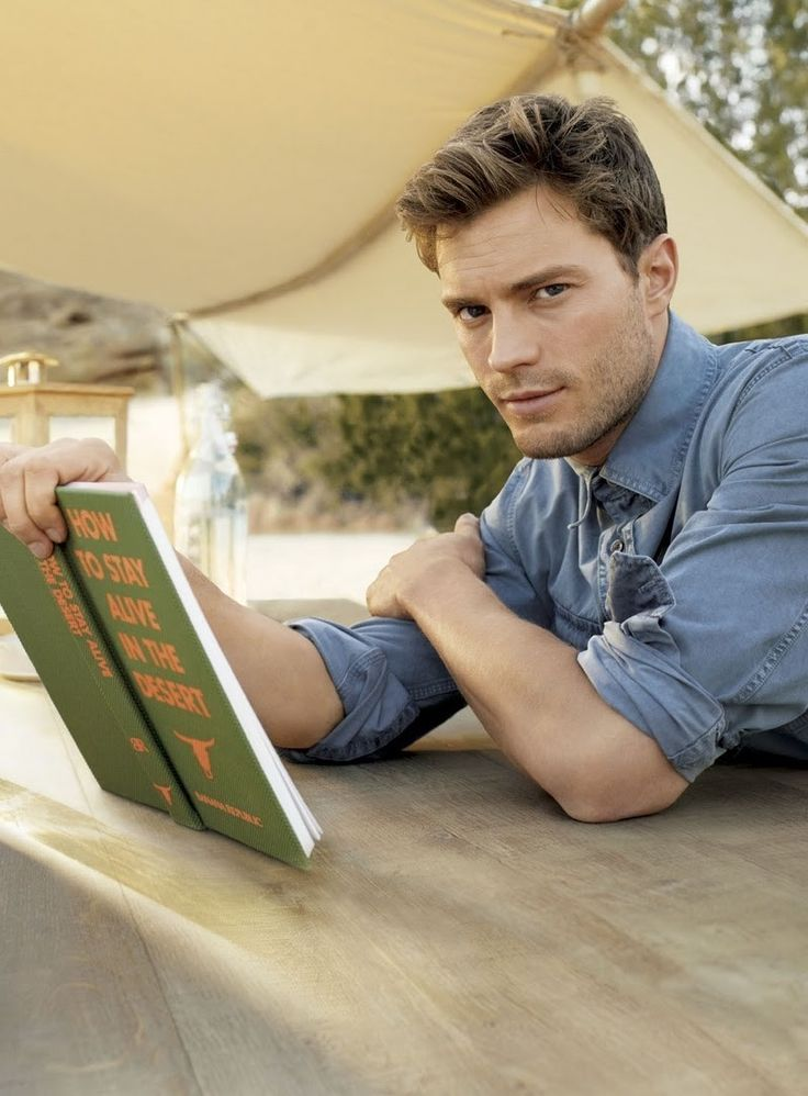 Jamie Dornan- Christian Grey