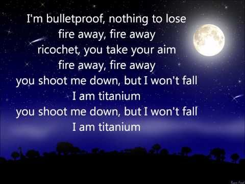 titanium lyrics - Google Search