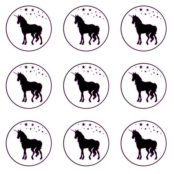 Free Printable Unicorn Cupcake Toppers Unicorn