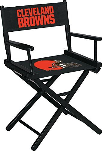 Cleveland Browns Table Height Directors Chair  https://allstarsportsfan.com/product/cleveland-browns-table-height-directors-chair/  Officially licensed by the National Football League Industry leading 10 year limited Warranty on frame covers our quality workmanship Made in the USA