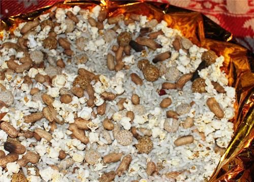 Moongfali, Popcorn for Bonfire - Lohri celebrations - Indian festivals calendar