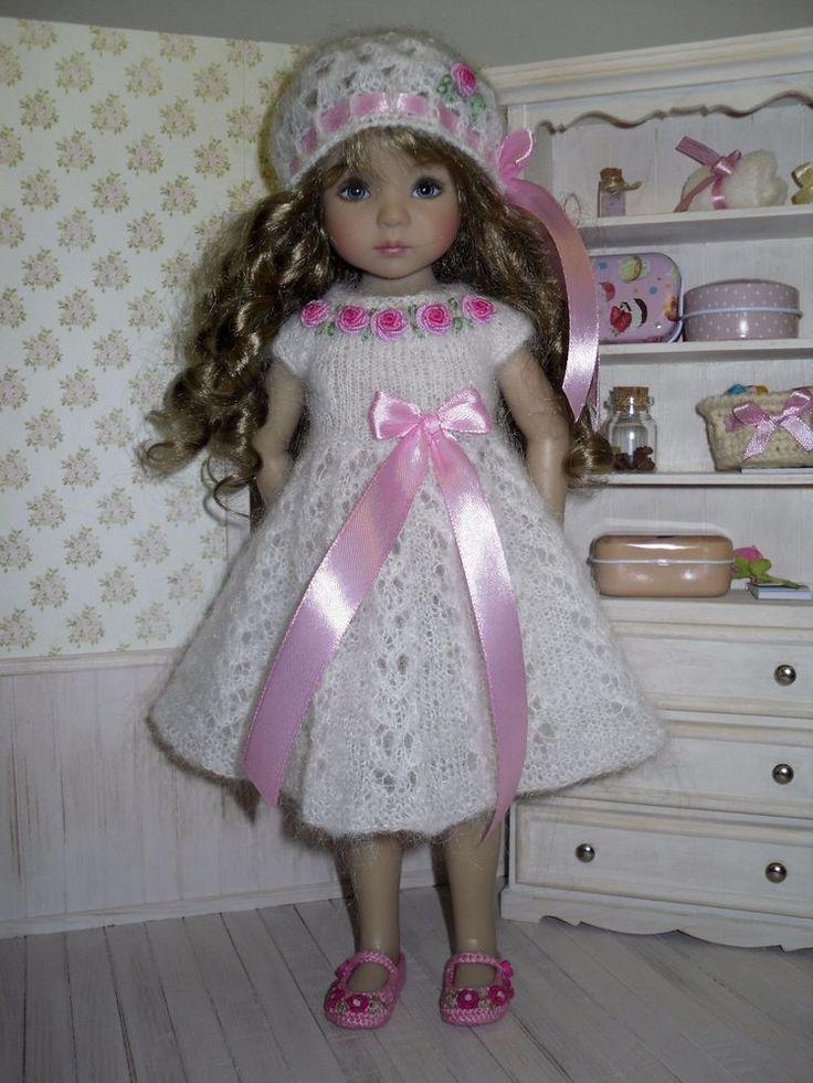 "13"" Dianna Effner Little Darling  dress and hat | eBay"