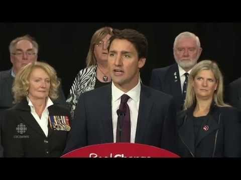 Aug 2015 Justin Trudeau Releases Liberals' Plan for Veterans - then...February 2018 Trudeau / cabinet break promises