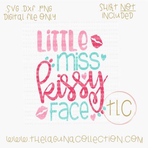 Little Miss Kissy Face - SVG Cut File  Little Miss Kissy Face - SVG Cut File Valentine SVG Cutting File, Valentine SVG, Free SVG Files, Little Miss Kissy Face, Kissy Face SVG, SVG, Silhouette Cutting Files, DIY Clothing, DIY Valentine