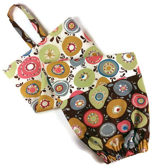 Moda Panache fabric plastic bag holder, grocery bag dispenser, 2 sizes available, home, VR or small appartments, by #mylittlepoppyseed - Sac coton pour ranger/distribuer les sacs plastique.  Be sure to visit and like my Facebook page and my Etsy shop: https://www.facebook.com/MyLittlePoppySeedCreations https://www.etsy.com/shop/mylittlepoppyseed