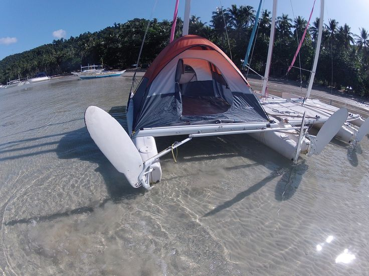 Catamaran camping in the Philippines in 2019 | Shanty boat ...