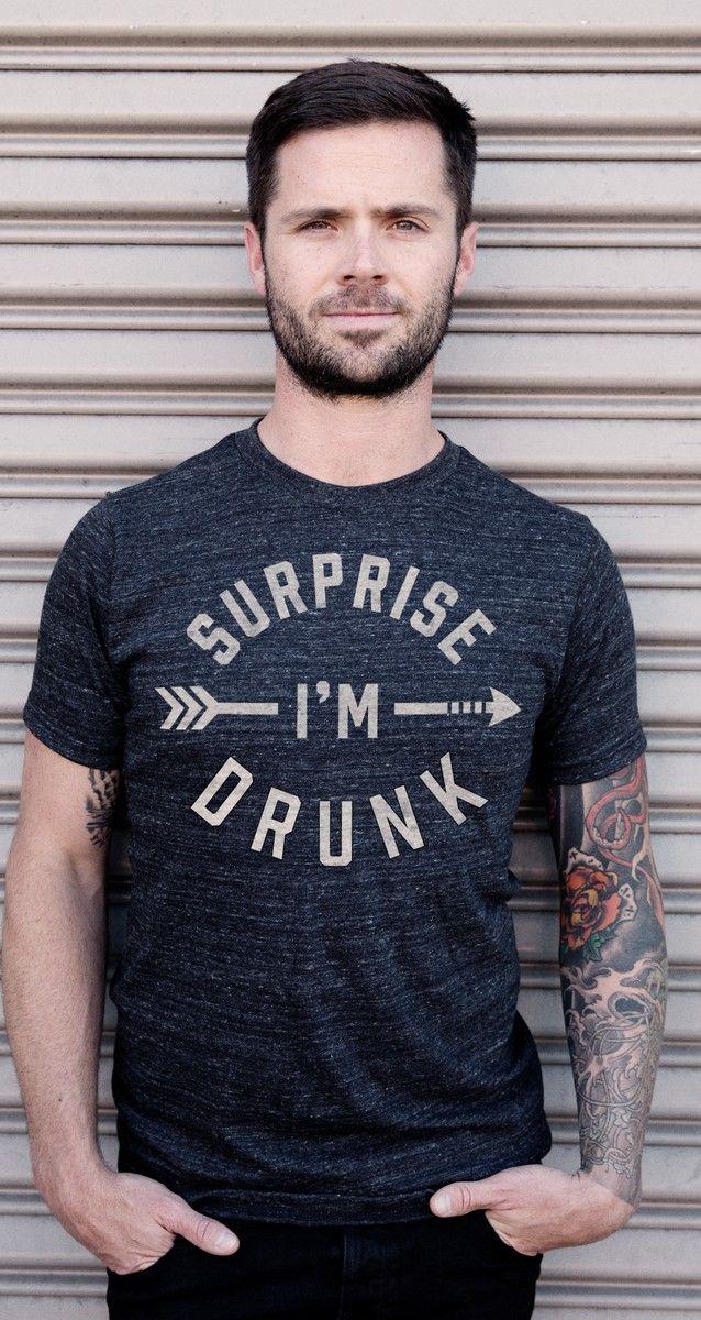 surprise I'm drunk tee