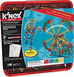These sets are so cool! Let your children experience endless building possibilities with K'NEX Building Sets. K'NEX building sets will keep your children occupied for hours!