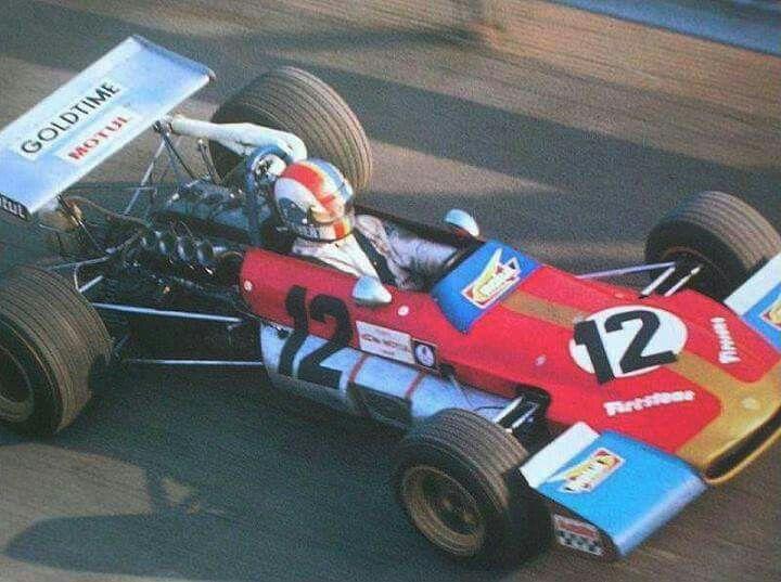 Francois Cevert - Tecno TF70 Cosworth FVA - Tecno Racing Team - (?) IX Gran Premio Città di Imola - 1970 European F2 Championship, Round 7