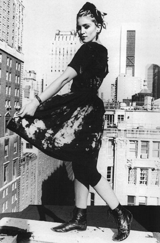 Rooftop Madonna Madonna Rare Madonna 80s