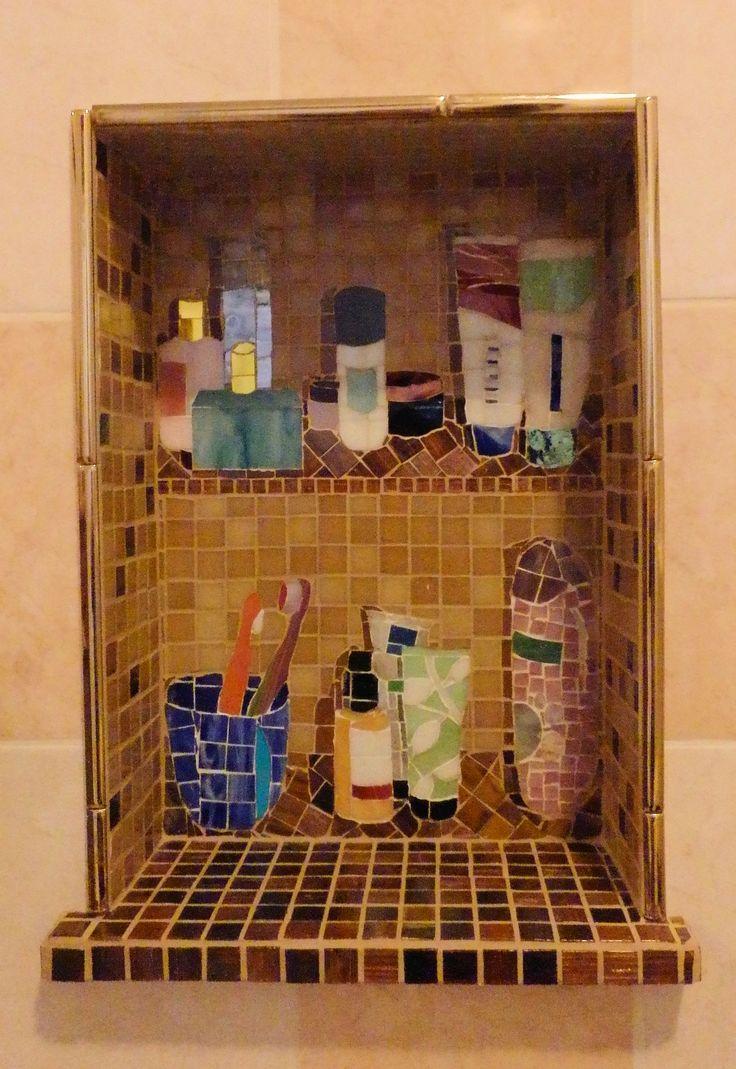 27 beste afbeeldingen over mozaiek van elsa op pinterest toiletten teen en met - Decoratie van toiletten ...