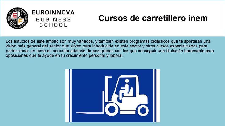 carnet carretillero inem - https://www.euroinnova.edu.es/cursos/carretillero-inem
