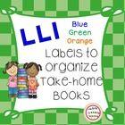 Free LLI Book Basket Labels