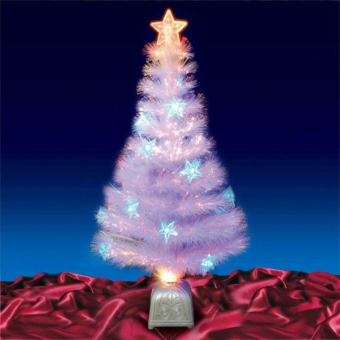 Tannenbaum Mit Beleuchtung | Die Besten 25 Weisse Kunstliche Weihnachtsbaume Ideen Auf