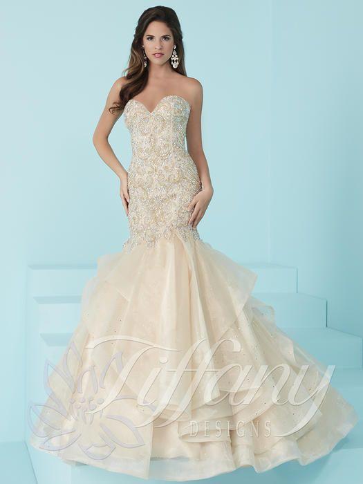Tiffany Designs 16235  Tiffany Designs Faulkenbery's Maggie Sottero Bridal, Sherri Hill Prom, Philadelphia MS, Meridian MS, Bridal Gowns, Prom Dresses