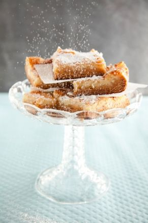 Paula Deen's Ooey Gooey Butter Cake is absolutely one of the easiest and BEST desserts ever!