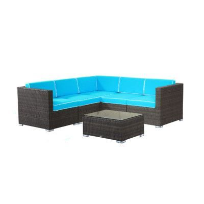 Best Rattan Outdoor Furniture Ideas On Pinterest Outdoor - Turquoise outdoor furniture