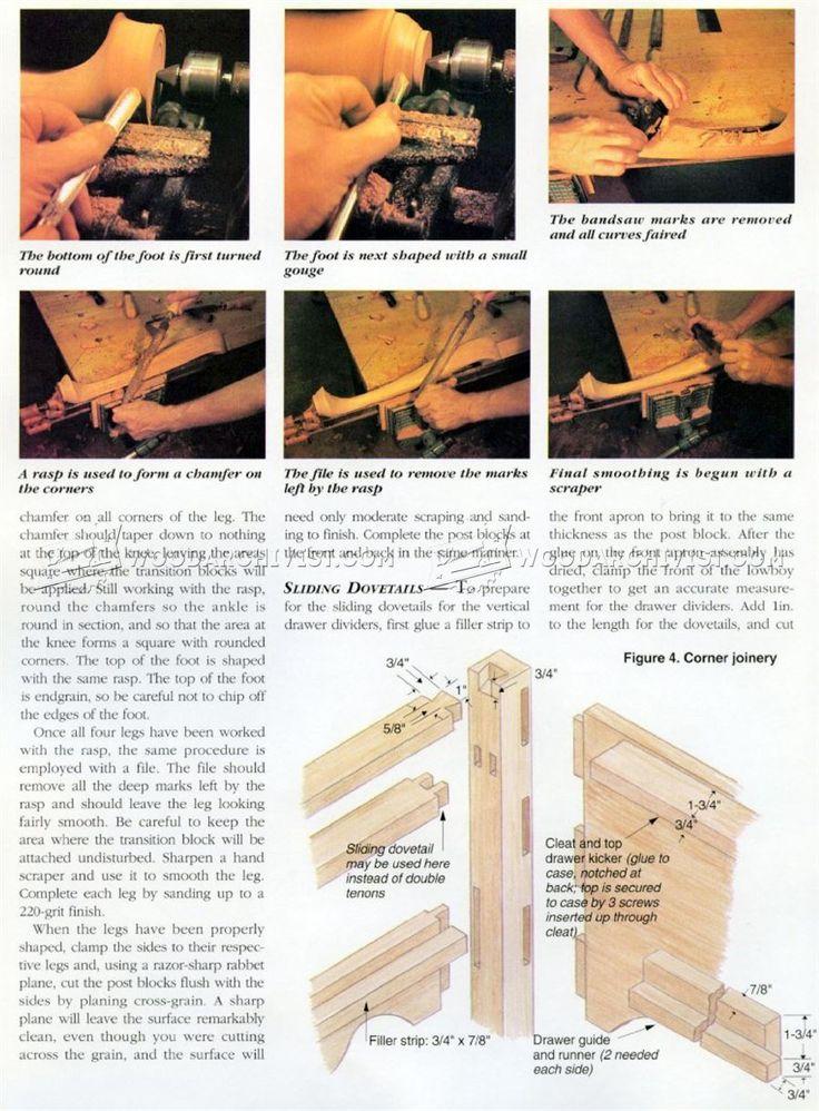 Lowboy Plans - Furniture Plans