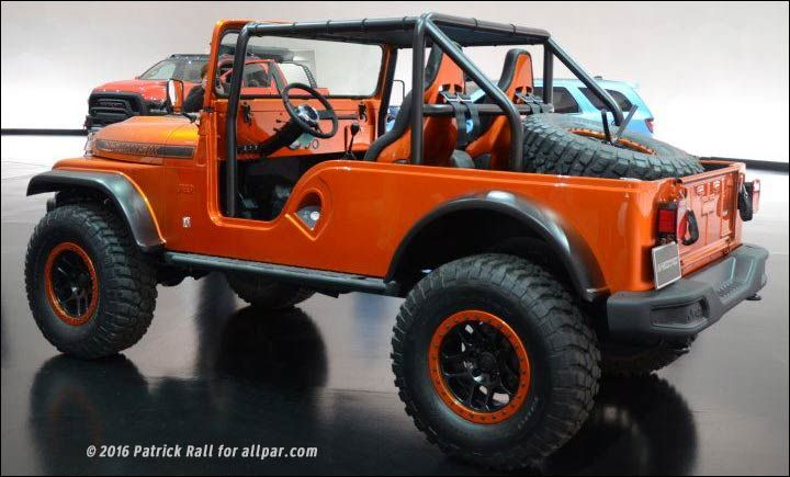 Chrysler And Jeep Concepts For Sema 2016 In 2020 Jeep Concept
