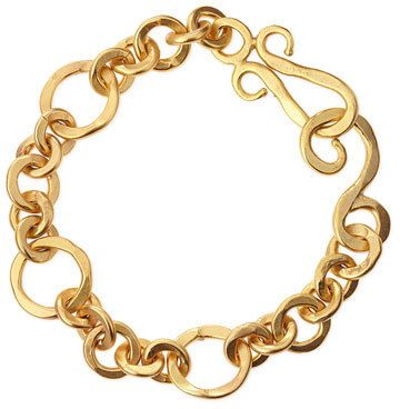 Stephanie Kantis Coronation 24k Gold Plate Small Bracelet