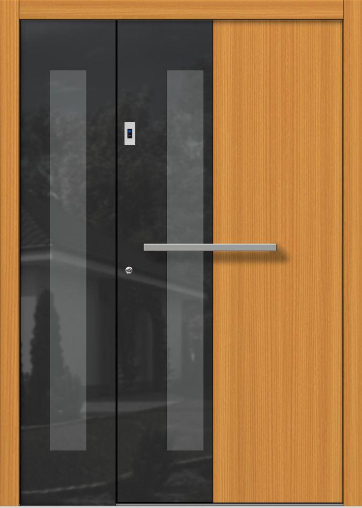 39 best Türen Haustüren Holz Modern images on Pinterest - design turen glas holz moderne