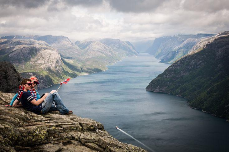 Norvég fjordok – Preikestolen, Norvégia