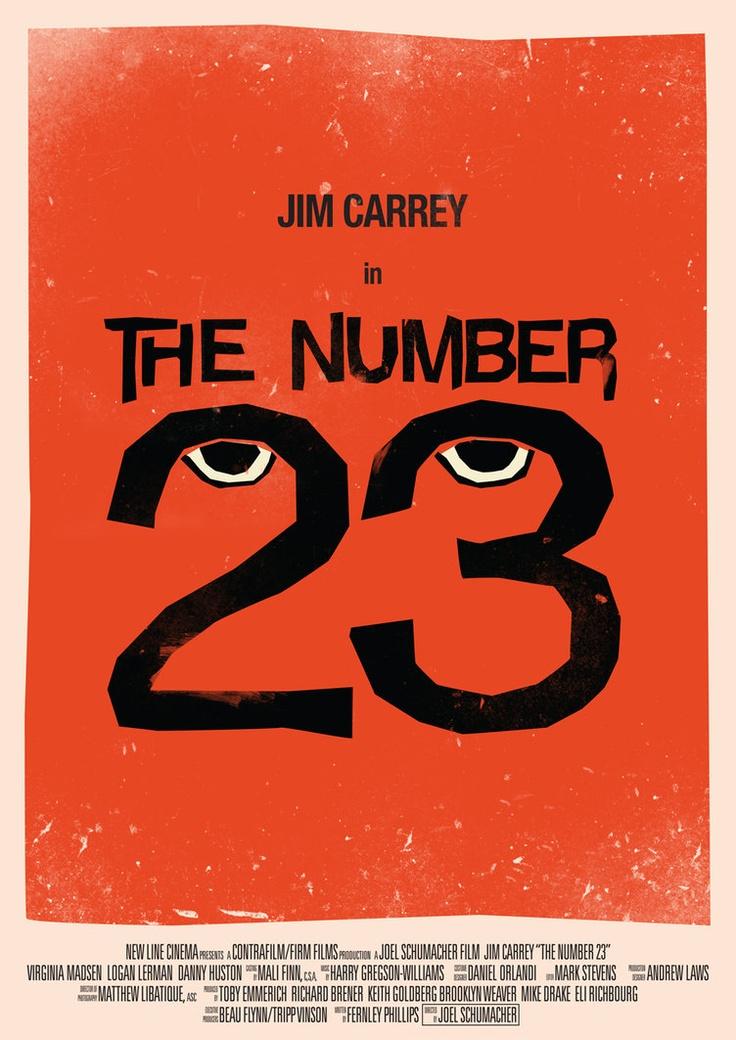 The Number 23 - Movie Poster by Tom Miatke