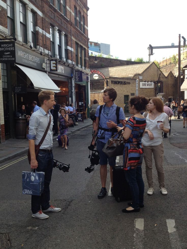 In Borough Market, London, getting that shot of the strawberries for the video! vimeo.com/73779352 #Gneo