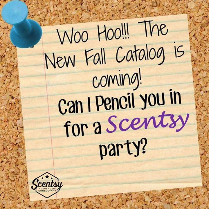 Hey!! You (lol I want to write y'all) do not want to miss out on this new catalogue! OMG! I can not begin to describe how excited I am for all the new and amazing warmers/scents/diffusers/etc that are coming your way in a few short weeks!! It will blow your mind!!! If I can get 10 likes.. I'll share a few sneak peaks just because you're all so awesome!!! Be sure to book your parties for September to be some of the FIRST people to enjoy our new stuff! Oh and (because that wasn't amazing…