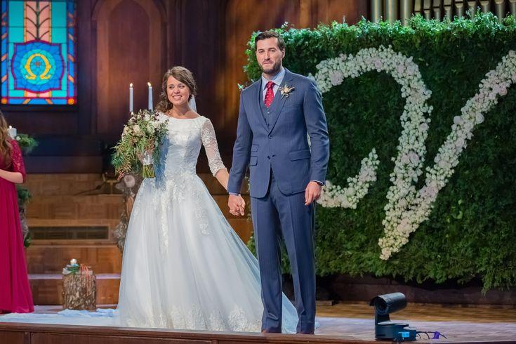 Jinger Duggar on her wedding day