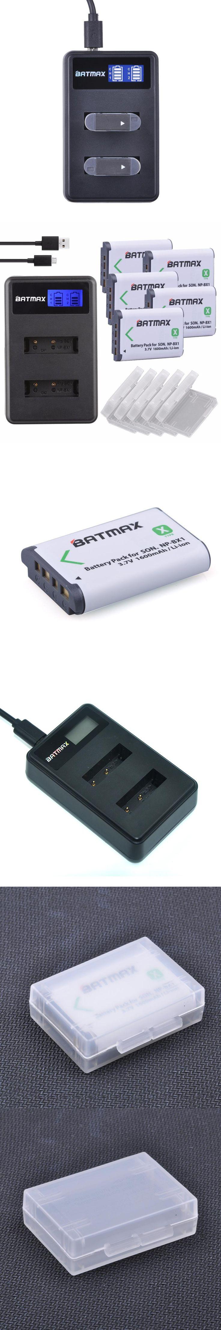 5x NPBX1 bateria NP-BX1 np bx1 Batteries+ LCD Charger for Sony DSC RX1 RX100 AS100V M3 M2 HX300 HX400 HX50 HX60 GWP88 AS15 WX350