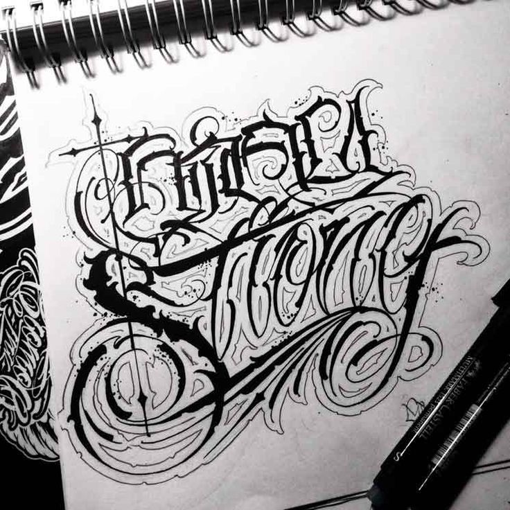 Gromov | Script Killas | tattoo ideas | Chicano lettering ...