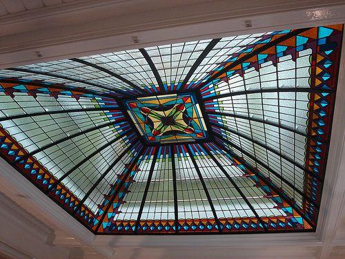 Glas in lood koepel - Haarlem by dealkmaarseglazenier, via Flickr