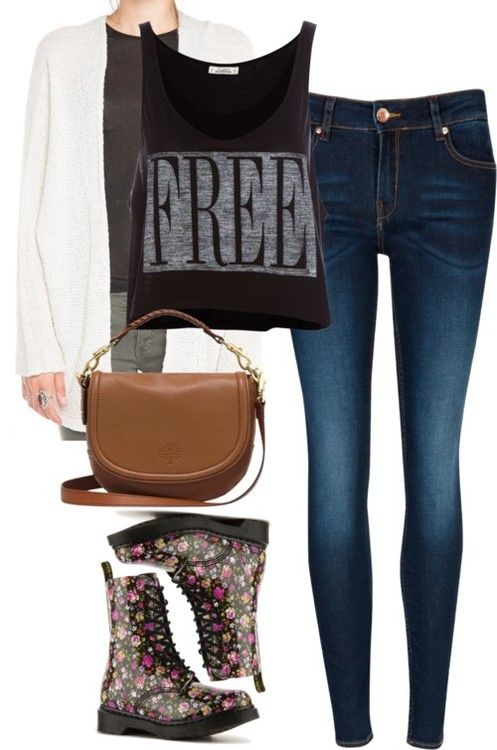 Combat boots coth style cute fall outfits foster outfit fall