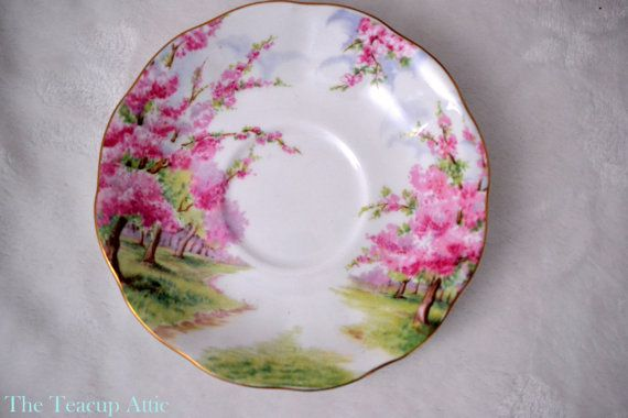 Royal Albert Blossom Time Saucer Only English by TheTeacupAttic