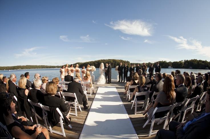 Fantastic wedding at The Lake Joseph Club in Muskoka | Images captured by Crimson Photos.