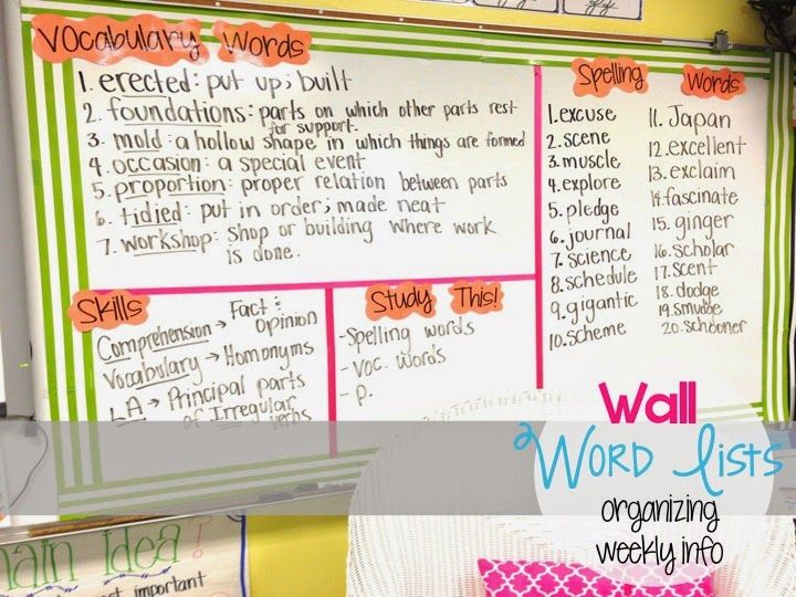 Best 25+ Agenda Board Ideas On Pinterest | Classroom Agenda