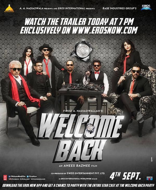 New Poster of #WelcomeBack