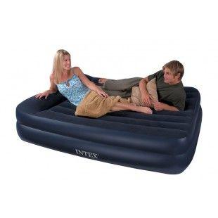 Matelas électrique gonflable 2 personnes Intex Rest Bed 203 x 152 x 47 cm