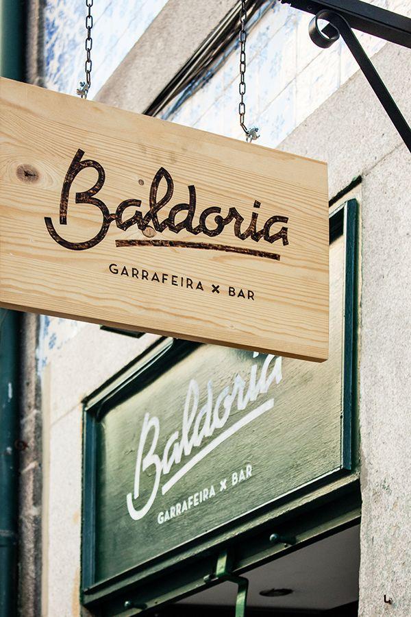 Baldoria – Garrafeira x Bar on Behance