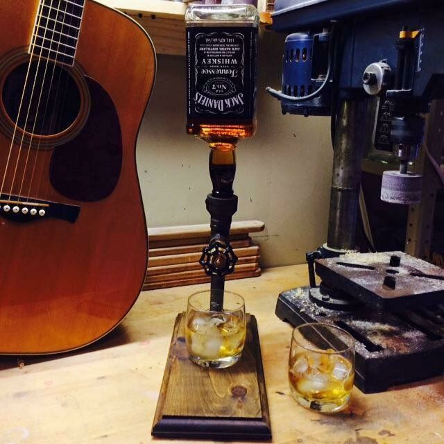 All of our whisky jacks are lined with beverage-safe braided tubing and give you a clean pour each and every time. Check us out on Facebook @whiskyjackcompany