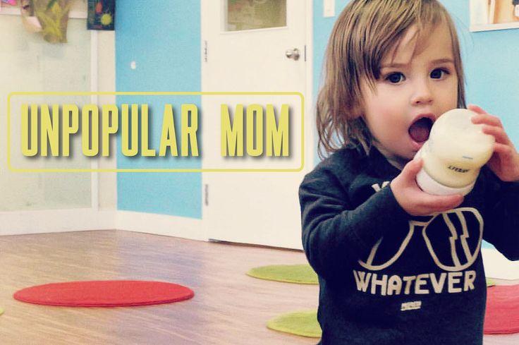 Unpopular Mom: Sometimes Baby Formula is Best