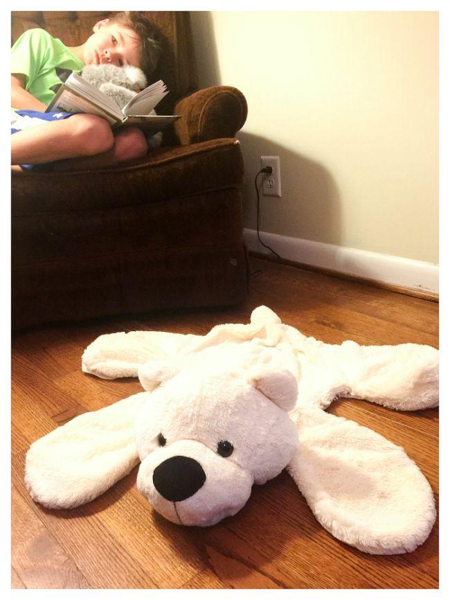 How to make a DIY Bear Rug