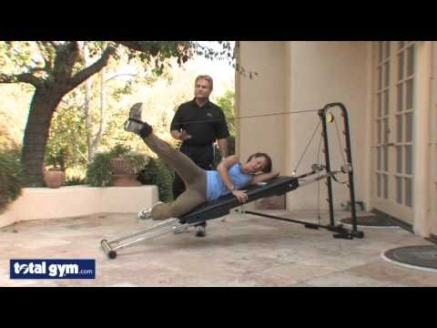 Total Gym Exercises - Hip and Glute Workout - Leg Pulley Sequence - YouTube