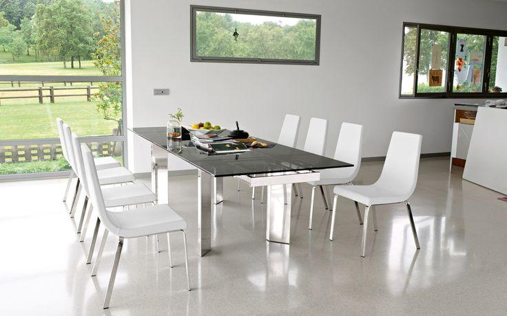 Las sillas Cruise, de la firma Calligaris, te dan el confort que necesitas para disfrutar tus eventos especiales.