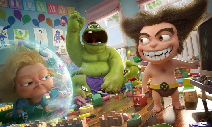 Baby Wolverine and Hulk Featured in THE INDESTRUCTIBLES Fan Art — GeekTyrant