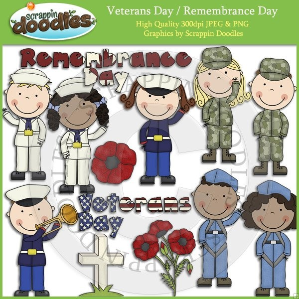 Veterans Day / Remembrance Day Clip Art Download