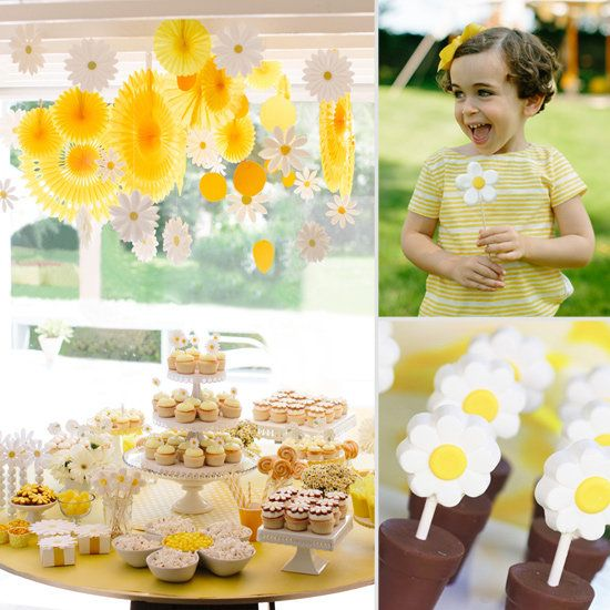 How to Throw a Daisy-Themed Shower or Birthday Party | POPSUGAR Moms
