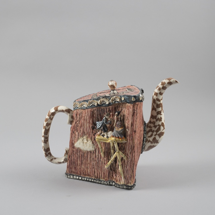 Richard Stratton, Agate Tea Chest, 2012